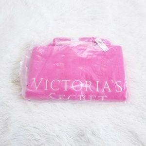 NWT Victoria's Secret Pink Terry Cloth Tote Bag